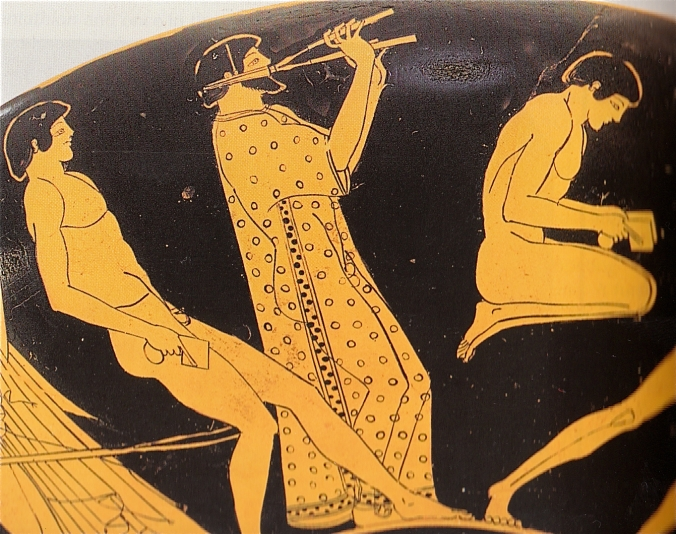 music and jumps Ancient Greece