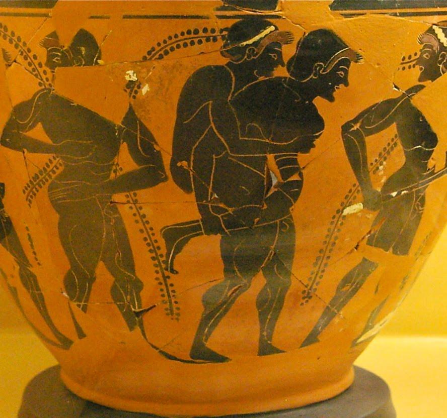 piggy back Ancient Greece