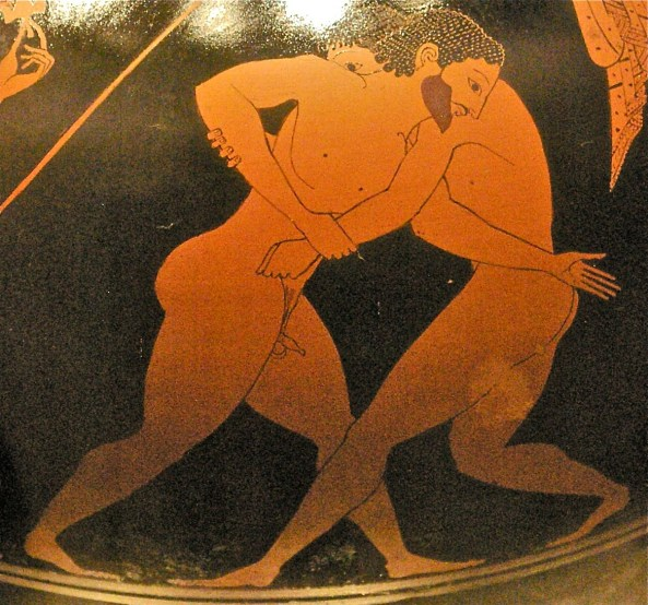 wrestling Ancient Greece