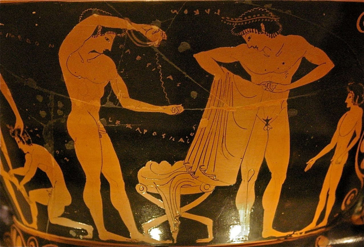 oiling Ancient Greece
