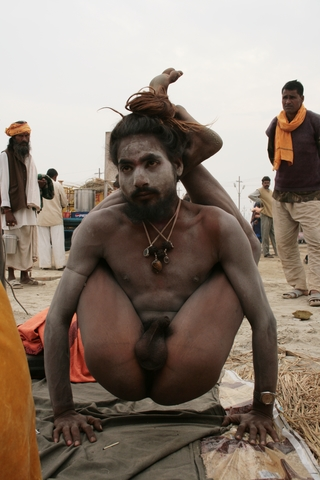 Naked yoga of india share your