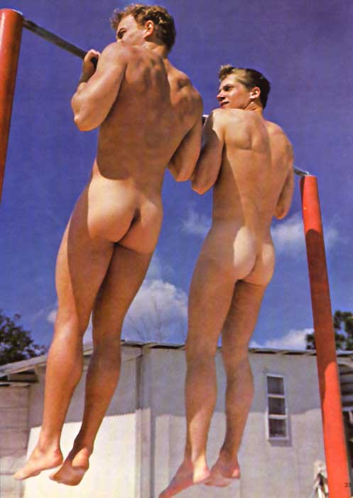 Gymnast Male Nude