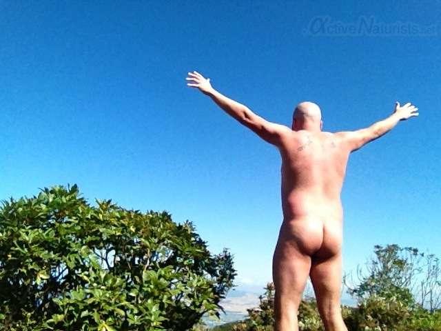 naturist 0001 Mount Tauhara, North Island, New Zealand