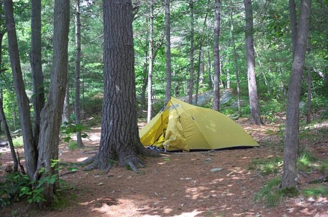 011 tent 0000 Georgian Bay, Ontario, Canada