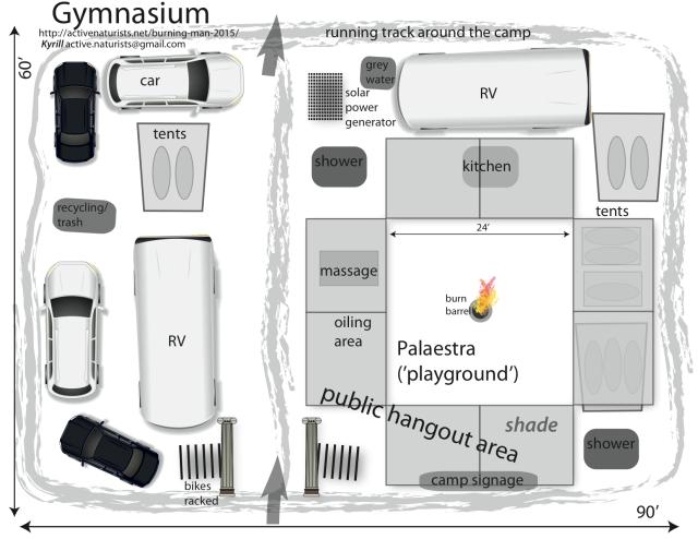 Gymnasium camp layout plan + name 3.0