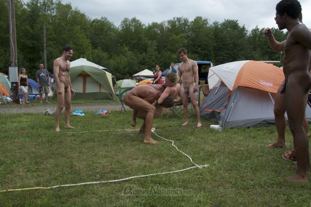 naturist wrestling 0006 FreeForm Festival, Pennsylvania, USA
