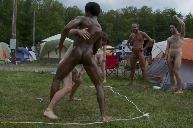 naturist wrestling 0017 FreeForm Festival, Pennsylvania, USA
