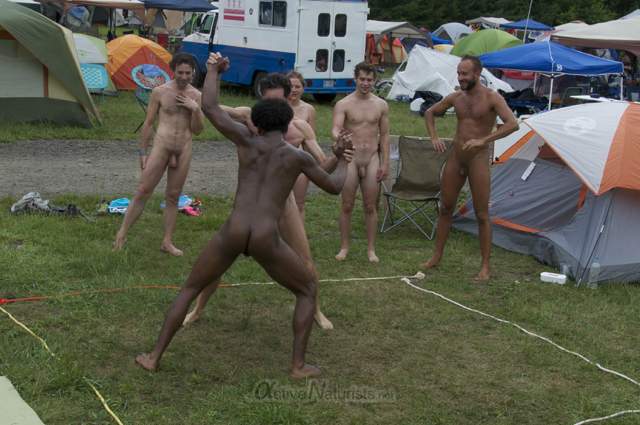 naturist wrestling 0061 FreeForm Festival, Pennsylvania, USA