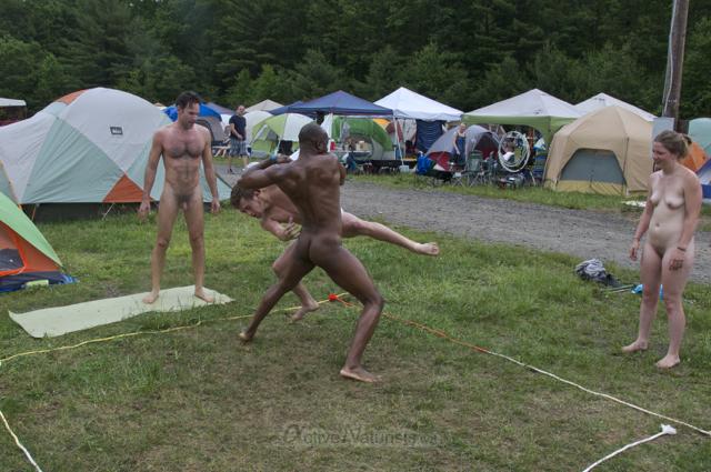 naturist wrestling 0073 FreeForm Festival, Pennsylvania, USA