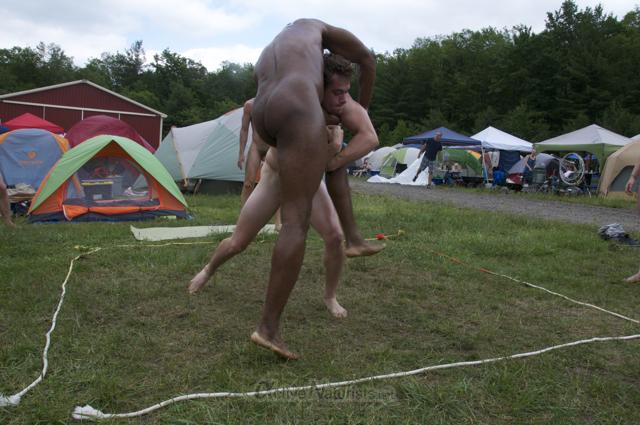 naturist wrestling 0076 FreeForm Festival, Pennsylvania, USA