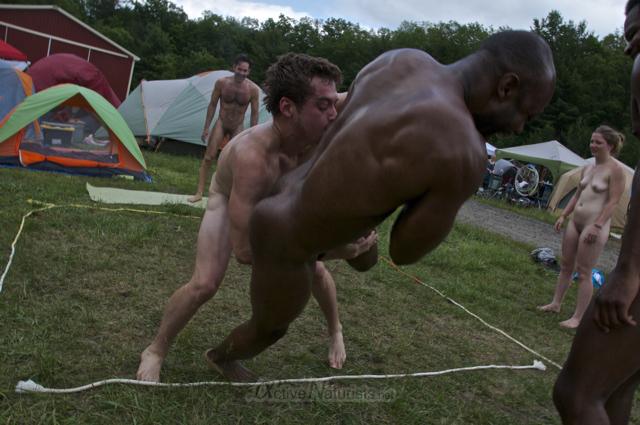 naturist wrestling 0077 FreeForm Festival, Pennsylvania, USA