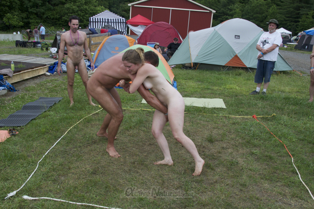 naturist wrestling 0143 FreeForm Festival, Pennsylvania, USA